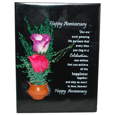 Click here for more on Happy Anniversary Message Stand -166-027