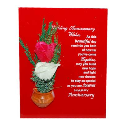 Click here for more on Anniversary Message Stand - code165-19