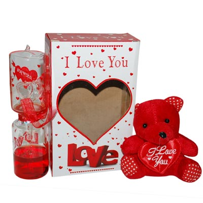 Click here for more on VALENTINE LOVE TIMER WITH TEDDY - 01 -2