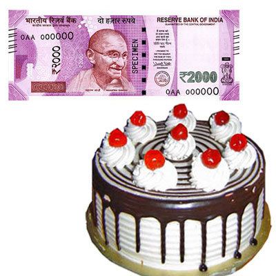 Click here for more on Cash - Rs. 2001 , 1kg cake
