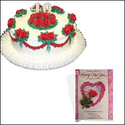 Anniversary Magic - 2kg Cake