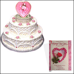 Be My Angel -3kg Fresh Cream Cake