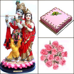Click here for more on Cake n Radhakrisha Idol
