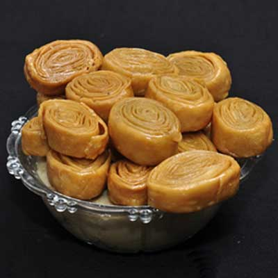 Click here for more on Abhiruchi Swagruha Madatha kaja - 1kg
