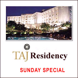 Click here for more on Taj Residency / Deccan - Sunday Lunch, Beverage