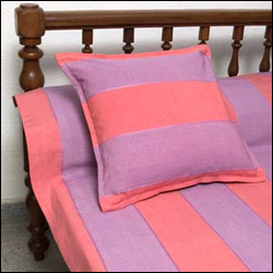 Click here for more on Dobby Stripe Single Bedspread