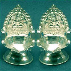 Click here for more on Two Silver Diyas