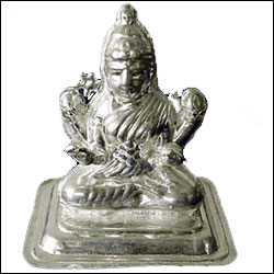 Click here for more on'Shri Lakshmi Silver Idol'