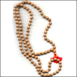 Click here for more on White Sandalwood 108 Beads Japa Mala