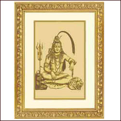 Gold Plated Lord Shiva