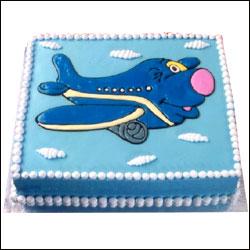 Plane Cake Design