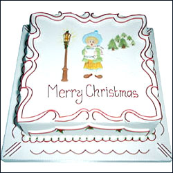 Send easter gifts to hyderabad bangalore india rich christmas cake 1 negle Images