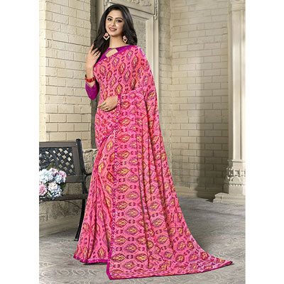 Click here for more on Fancy Georgette Saree SEY-68 ( Kanchan-2796) (Express Delivery)