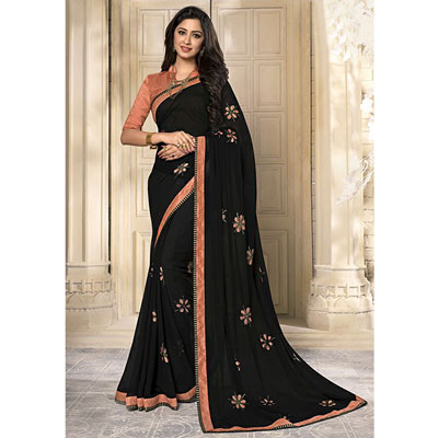 Click here for more on Fancy Georgette Saree SEY-73 ( Kanchan-2802)(Express Delivery)