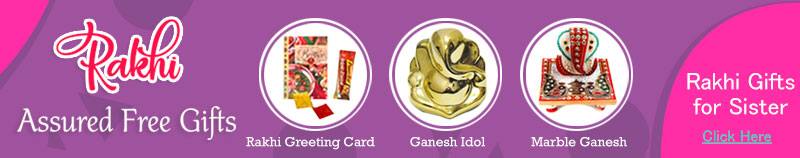 Rakhi Assured Free Gifts